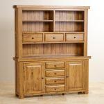 Hercules Rustic Solid Oak Large Dresser - Thumbnail 2