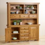 Hercules Rustic Solid Oak Large Dresser - Thumbnail 5