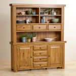 Hercules Rustic Solid Oak Large Dresser - Thumbnail 4
