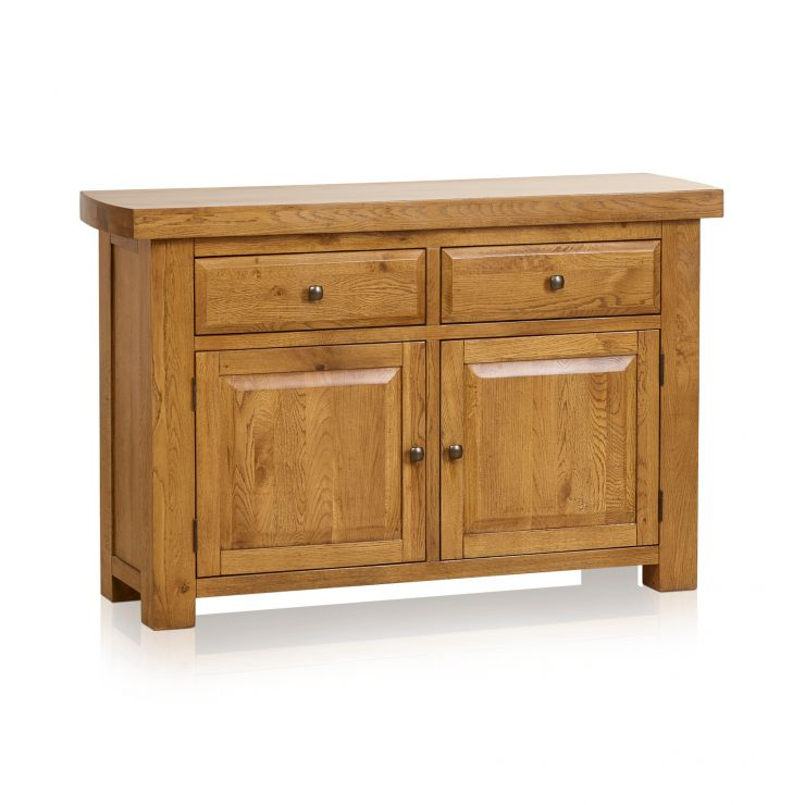Hercules Rustic Solid Oak Small Sideboard