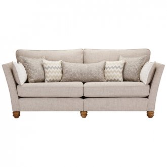 Gainsborough 4 Seater Sofa in Beige with Beige Scatters