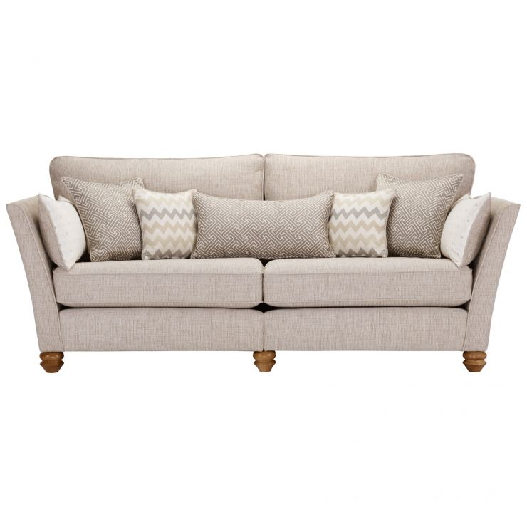 Gainsborough 4 Seater Sofa in Beige with Beige Scatters - Image 3
