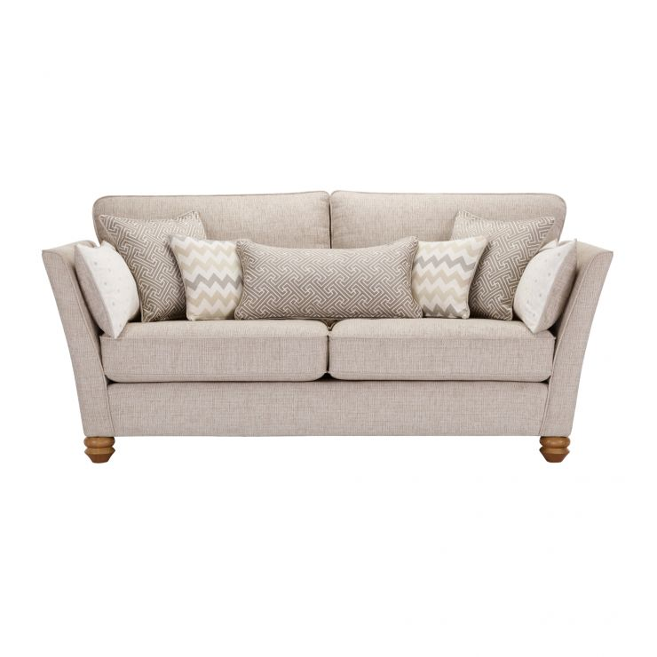 Gainsborough 3 Seater Sofa in Beige with Beige Scatters - Image 2