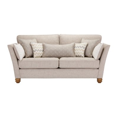 Gainsborough 3 Seater Sofa in Beige with Beige Scatters