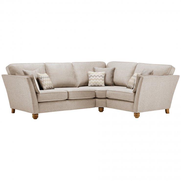 Gainsborough Left Hand Corner Sofa in Beige with Beige Scatters - Image 1