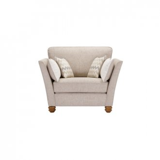 Gainsborough Loveseat in Beige with Beige Scatters