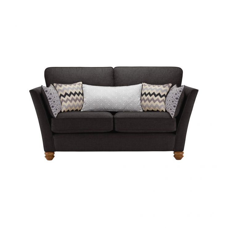Gainsborough 2 Seater Sofa in Black with Silver Scatters - Image 2