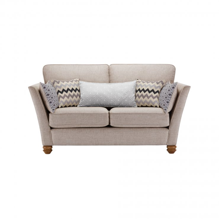 Gainsborough 2 Seater Sofa in Silver with Silver Scatters - Image 2