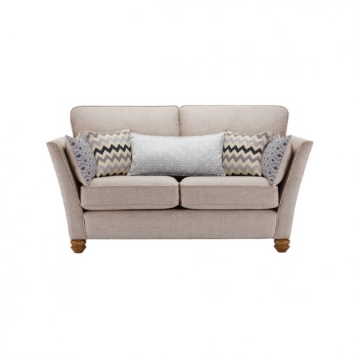 Gainsborough 2 Seater Sofa in Silver with Silver Scatters
