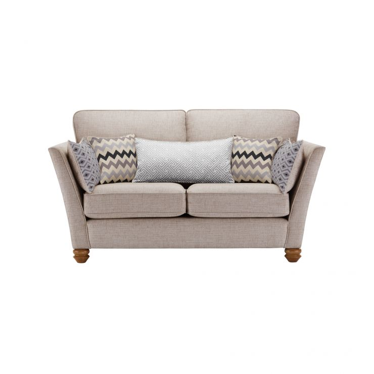 Gainsborough 2 Seater Sofa in Silver with Silver Scatters - Image 1
