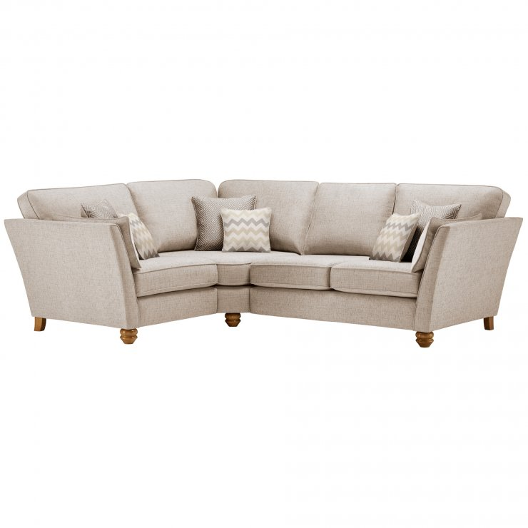 Gainsborough Right Hand Corner Sofa in Beige with Beige Scatters - Image 1