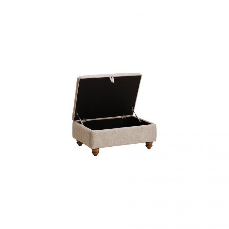 Gainsborough Storage Footstool in Beige