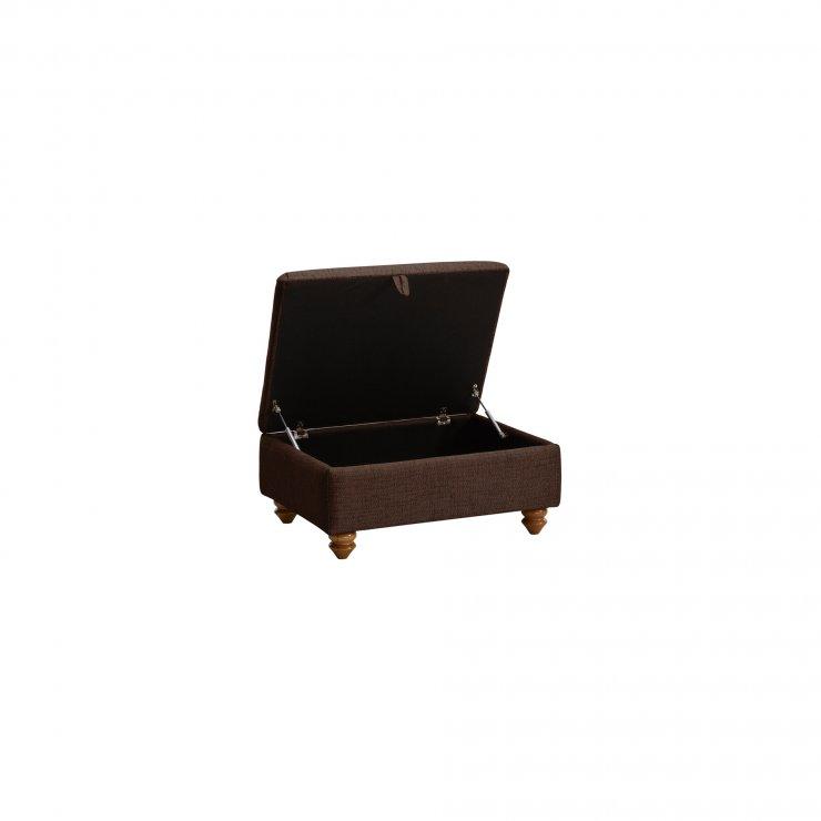 Gainsborough Storage Footstool in Brown