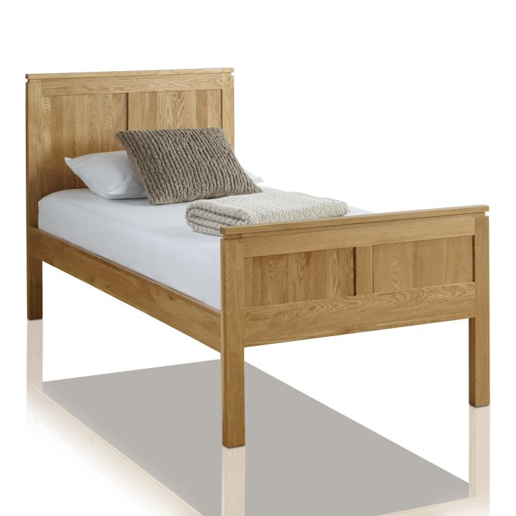 Galway Natural Solid Oak 3ft Single Bed - Image 4