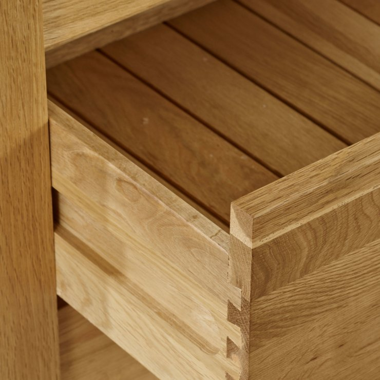 Galway Natural Solid Oak Bedside Table