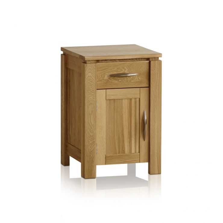 Galway Natural Solid Oak Bedside Table - Image 6