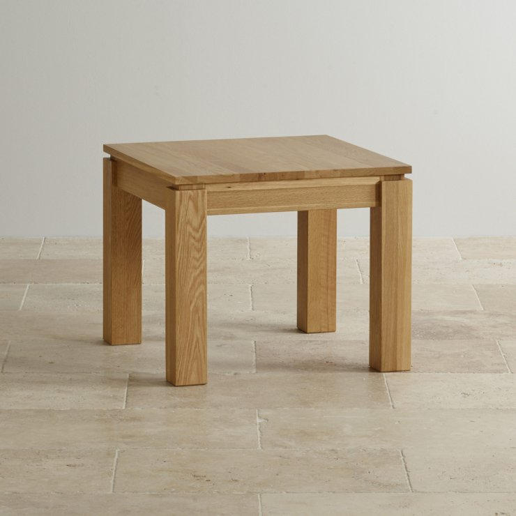 Galway Natural Solid Oak Side Table - Image 3