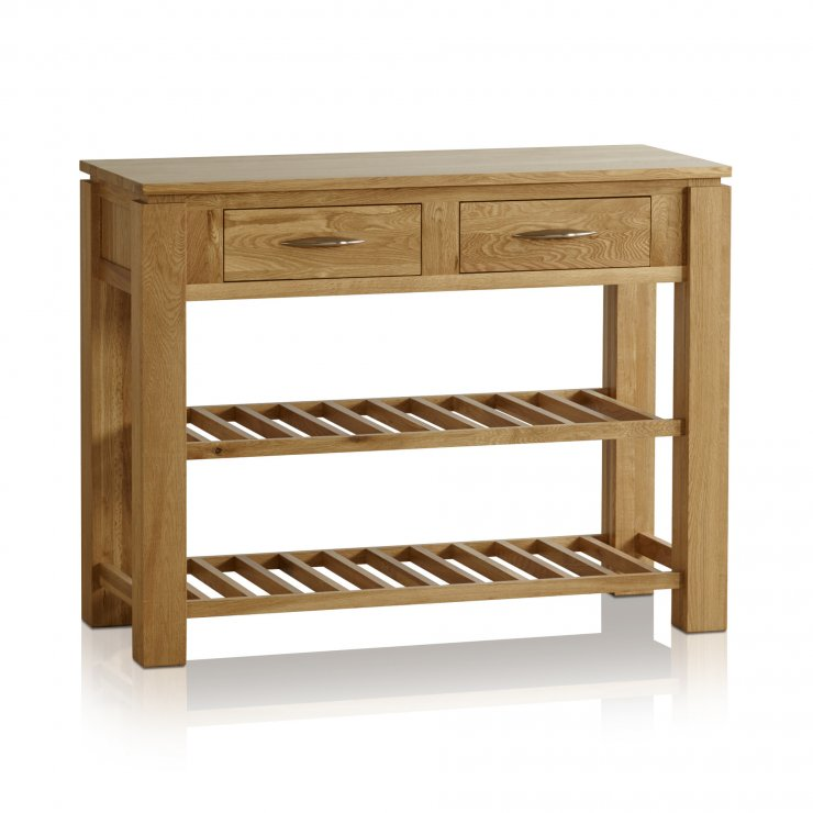 Galway Natural  Solid Oak Console Table - Image 6
