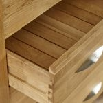 Galway Natural Solid Oak Dressing Table - Thumbnail 5