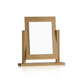 Galway Natural Solid Oak Dressing Table Mirror