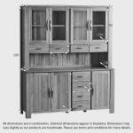 Galway Natural Solid Oak Large Dresser - Thumbnail 8