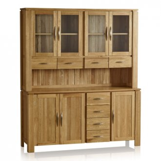 Galway Natural Solid Oak Large Dresser