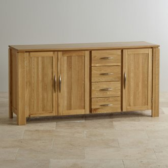 Galway Natural Solid Oak Large Sideboard