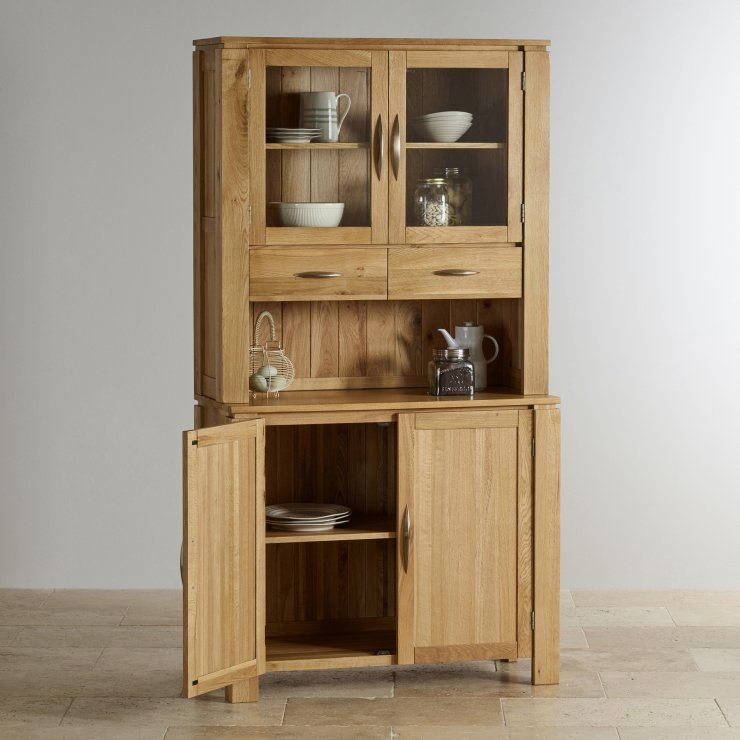 Galway Natural Solid Oak Narrow Small Dresser