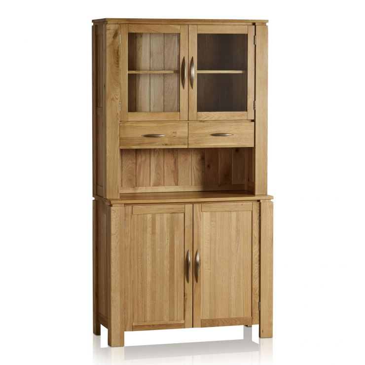 Galway Natural Solid Oak Narrow Small Dresser - Image 5