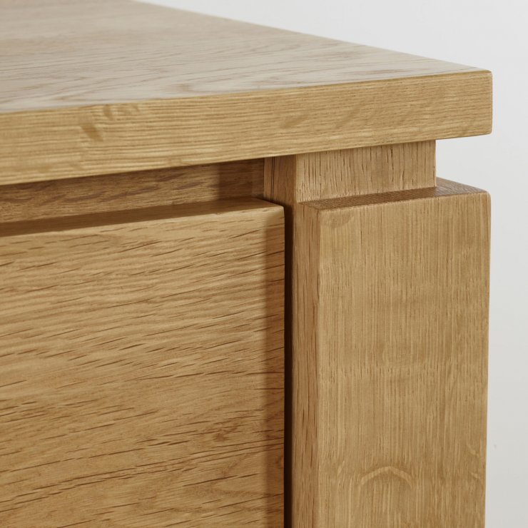 Galway Natural Solid Oak Narrow Small Sideboard