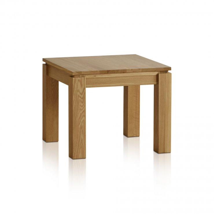 Galway Natural Solid Oak Side Table - Image 4