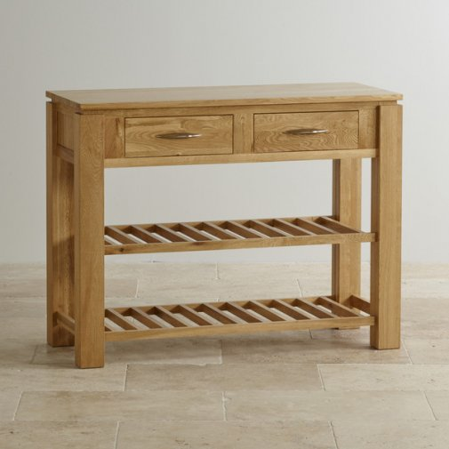 Galway Natural  Solid Oak Console Table