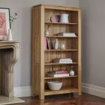 Galway Natural Solid Oak Tall Bookcase - Thumbnail 3