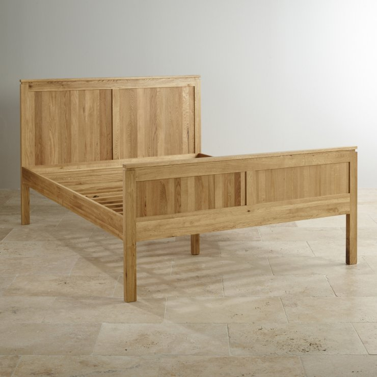 Galway Solid Oak 5ft King-Size Bed