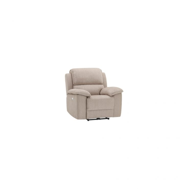 Goodwood Electric Reclining Armchair in Silver