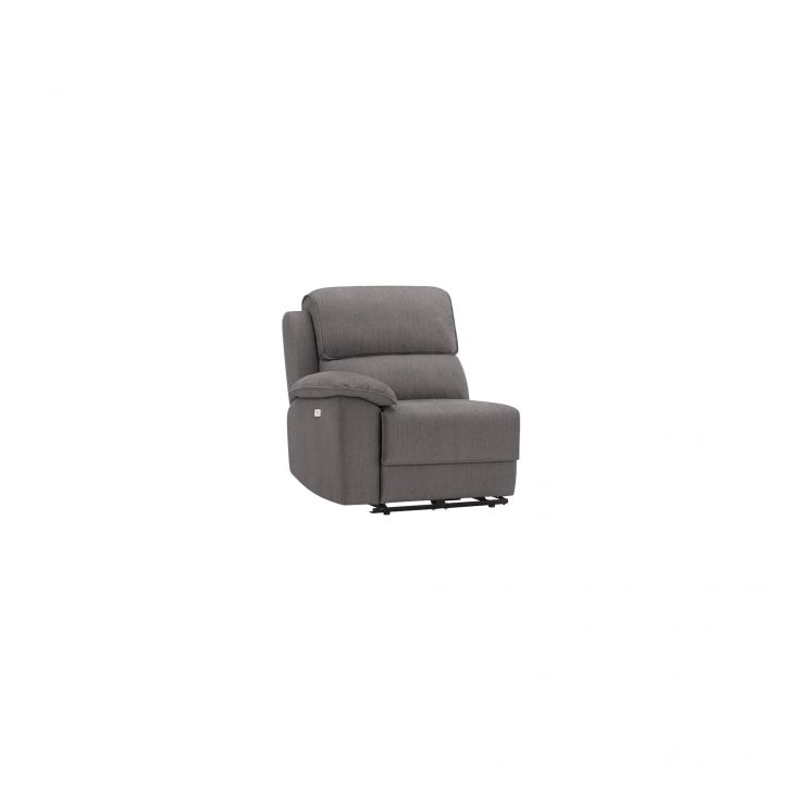 Goodwood Left Arm Electric Recliner Module in Charcoal