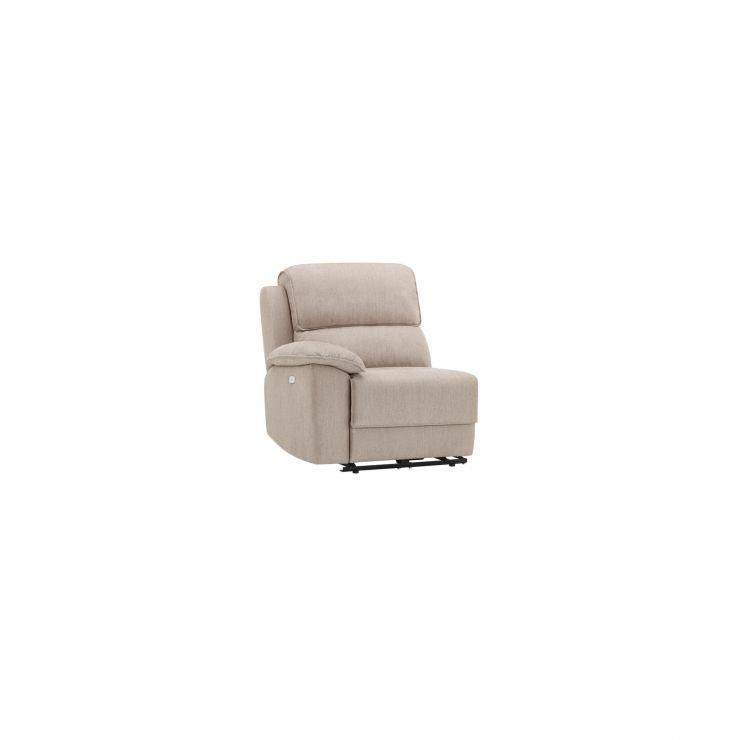 Goodwood Left Arm Manual Recliner Module in Silver