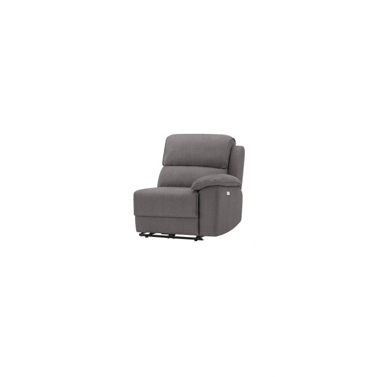 Goodwood Right Arm Electric Recliner Module in Charcoal