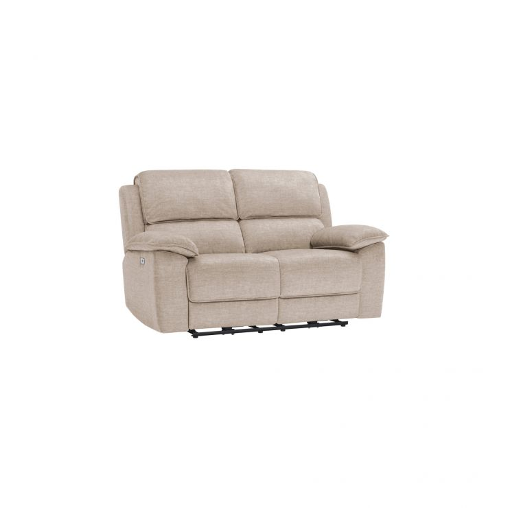 Goodwood Silver 2 Seater Electric Recliner Sofa
