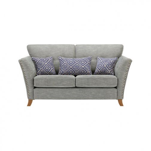 Grosvenor 2 Seater Sofa in Blue with Blue Scatters