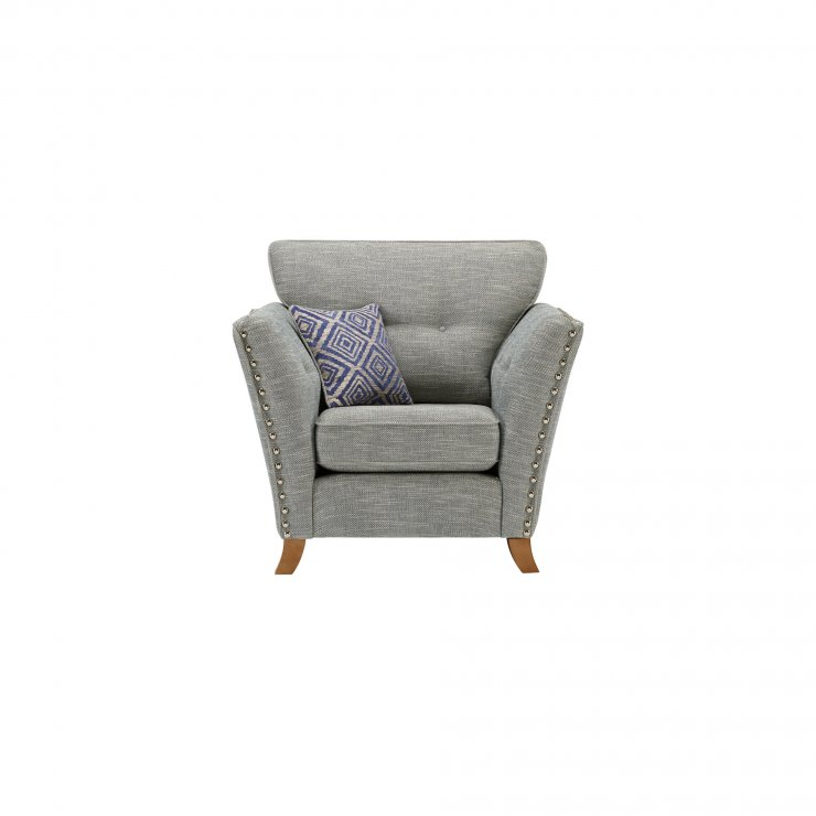 Grosvenor Armchair in Blue with Blue Scatters - Image 1