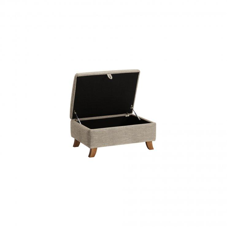 Grosvenor Storage Footstool in Beige