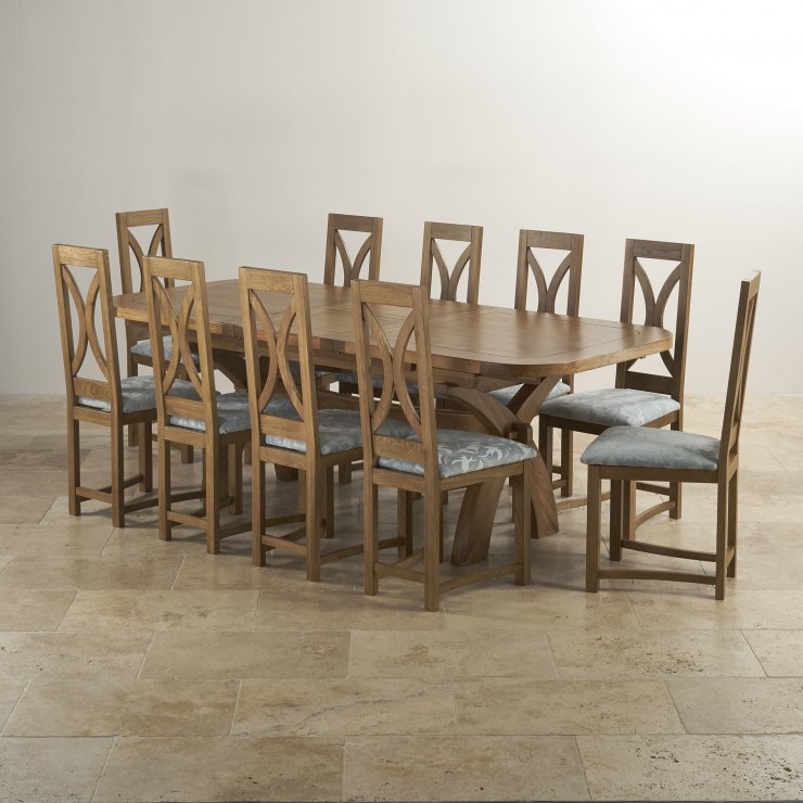 Dining Table Set For 10: Hercules Dining Table Set