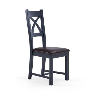 Highgate Brown Leather Dining Chair