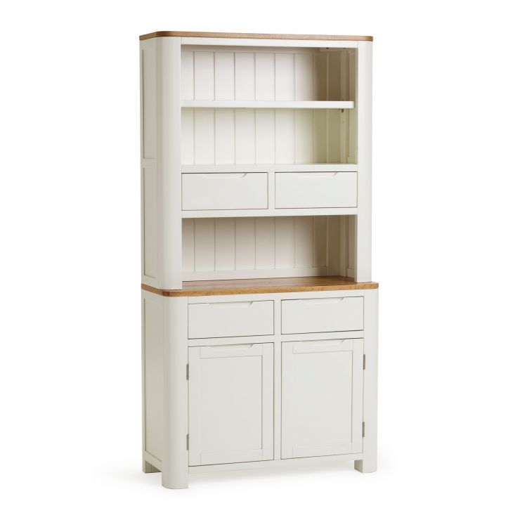 Hove Natural Oak and Painted Small Dresser