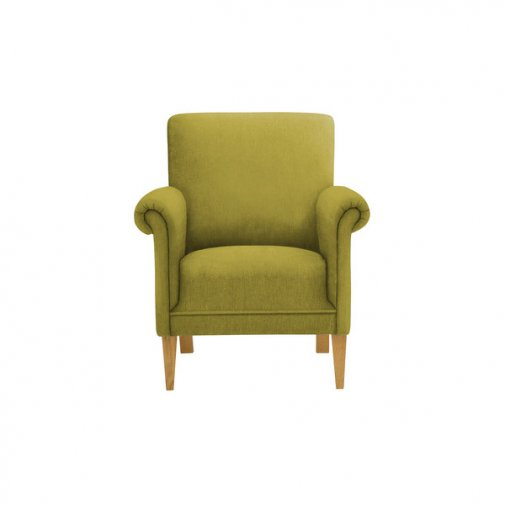 Jasmine Accent Chair in Cosmo Apple