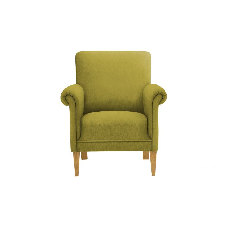 Jasmine Accent Chair in Cosmo Apple with Cosmo Apple Scatter Cushion