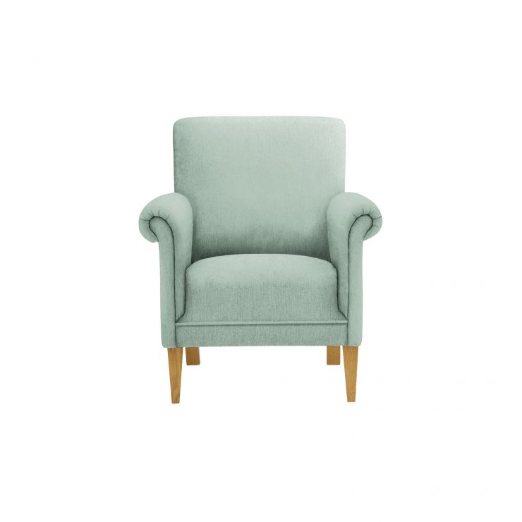Jasmine Accent Chair in Cosmo Duck Egg with Cosmo Duck Egg Scatter Cushion