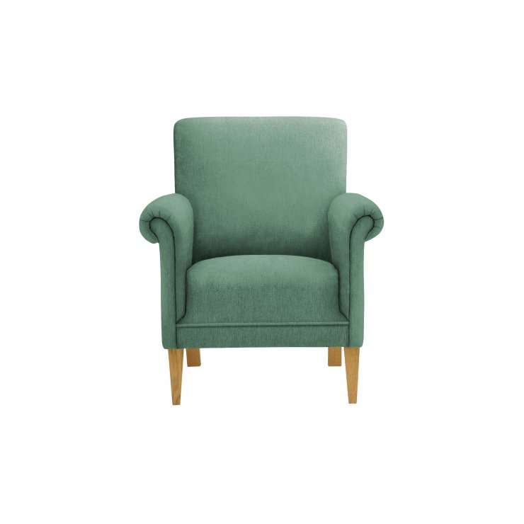 Jasmine Accent Chair in Cosmo Jade - Image 1