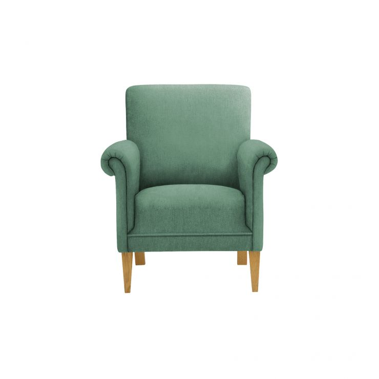 Jasmine Accent Chair in Cosmo Jade with Cosmo Jade Scatter Cushion